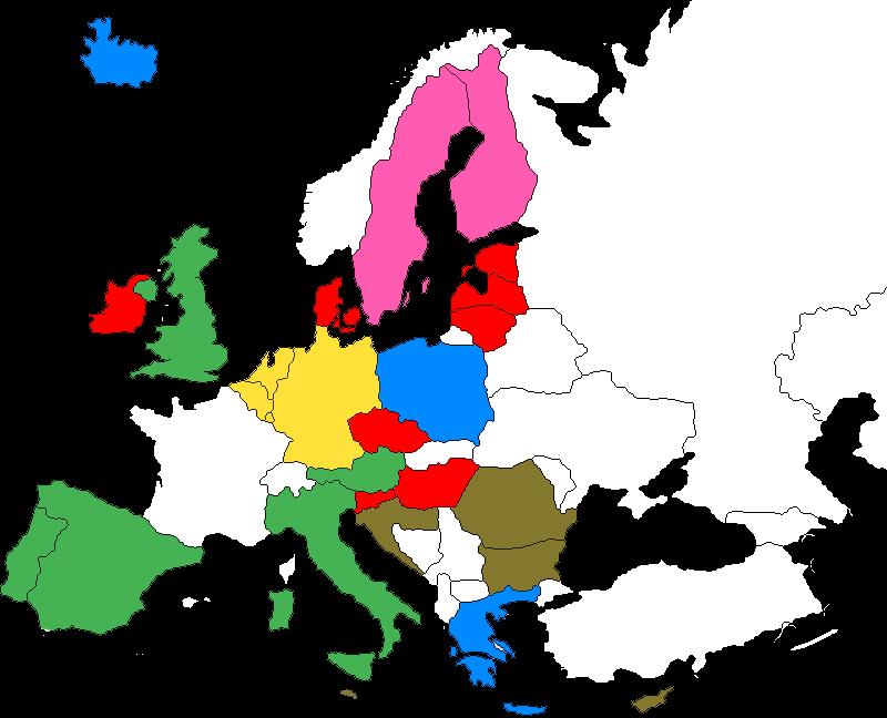 Carte livraison en Europe Babylor